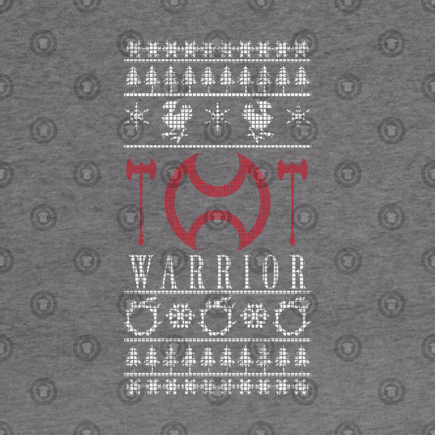 Final Fantasy Xiv Warrior Ugly Christmas Sweater Final Fantasy Xiv