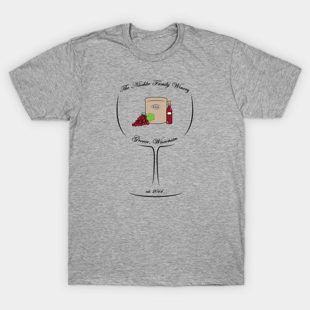 ec80c80f A Family Winery - Wine - T-Shirt | TeePublic