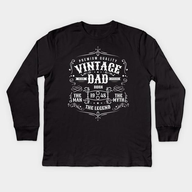 Vintage Dad Born 1948 Shirt