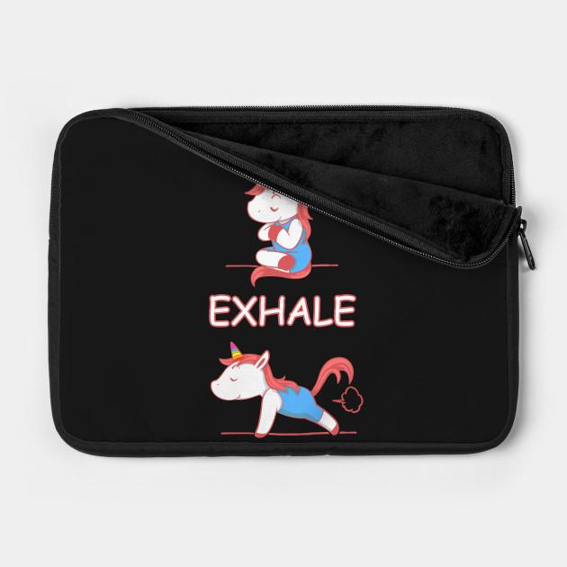 Yoga Unicorn Inhale Exhale