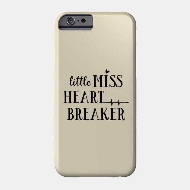 Valentine's Series: Little Miss Heart Breaker Phone Case