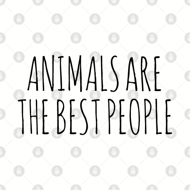 AnimalsAreTheBestPeople