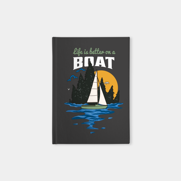 Sunset Sailboat Gift For Sailing Lovers
