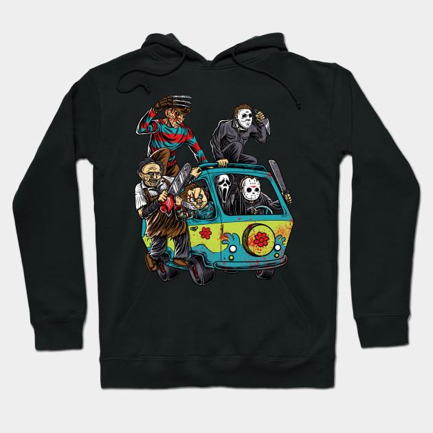 Horror hoodies