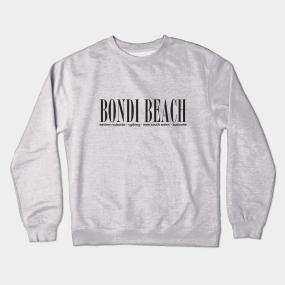 551adca96e Bondi Beach Crewneck Sweatshirts | TeePublic