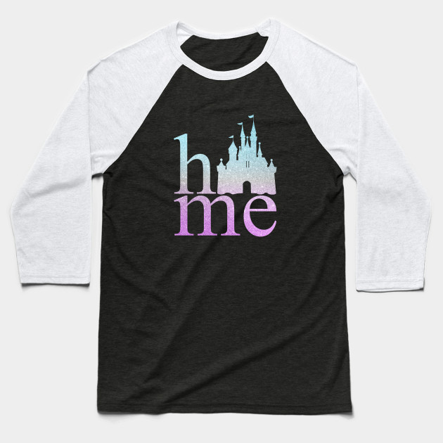 Disney Princess Castle Inspired design Baseball T-Shirt
