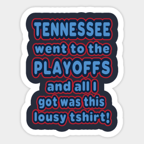 e79b8243 Tennessee Titans Stickers | TeePublic