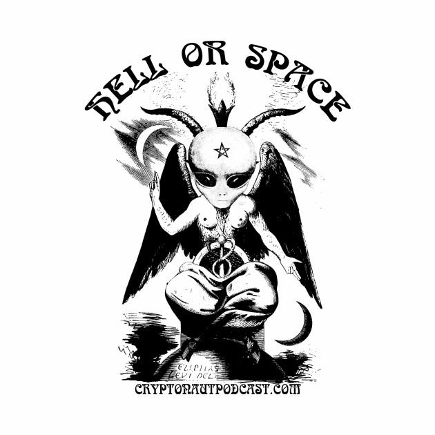 Hell Or Space - Alien Baphomet