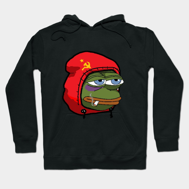Communist Pepe The Frog Anons Hoodie Teepublic