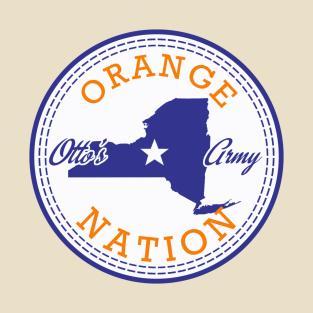 Syracuse Orange Nation Chucks t-shirts
