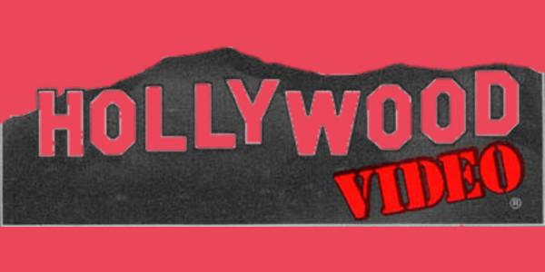 hollywood video logo - video store - hoodie | teepublic