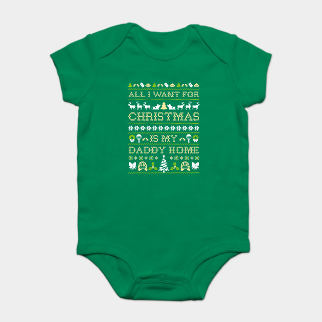 d4ed9a83 All I Want For Christmas Is My Daddy Home - Military Brat Child ...