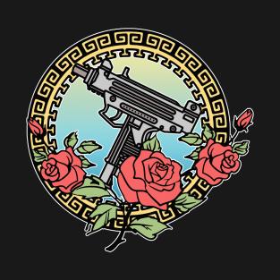 f8a59b82 Gangsta Roses /// Aesthetic Tattoo Style Illustration Design T-Shirt. by  DankFutura. $20. Main Tag Tattoo Artist ...