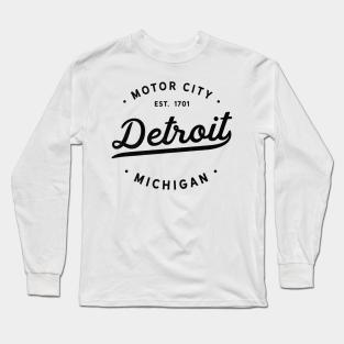 Details about  /WoodwardAve.//Detroit//Long Sleeve T-Shirt