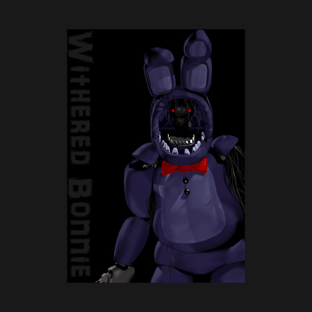 withered bonnie five nights at freddys onesie teepublic