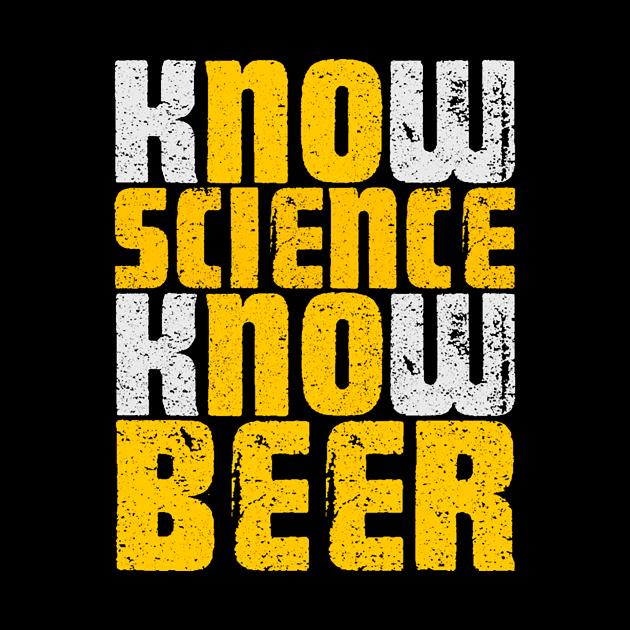 NO SCIENCE NO BEER