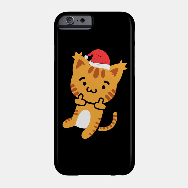 Christmas cat sweater I cat owner Christmas gifts Phone Case