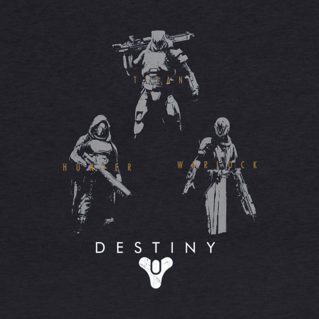 Destiny Titan Hunter Warlock