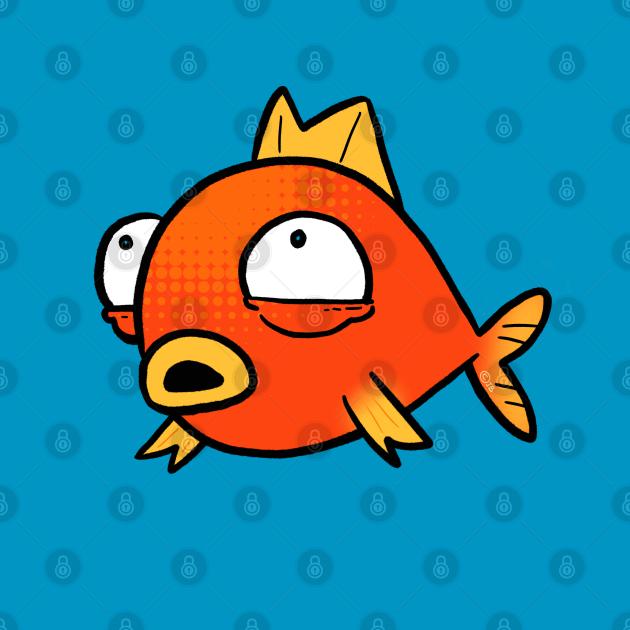Derpy Goldfish