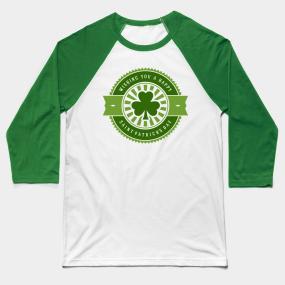 87d4aca4a Shamrock Saint Patricks Day Baseball T-Shirts | TeePublic