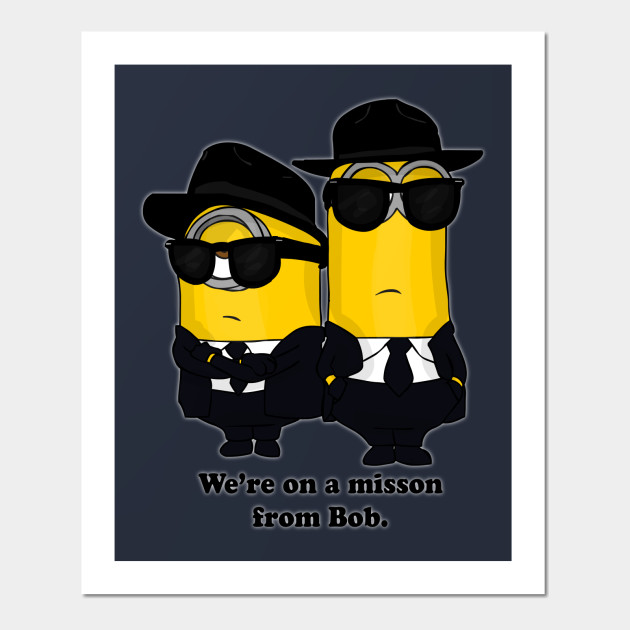 Minion Blues Brothers