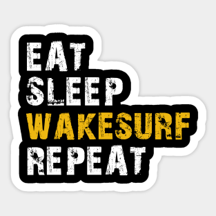Choose Color V and T Gifts Eat Sleep Surf Decal