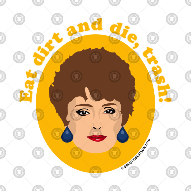 Blanche Devereaux (Rue McClanahan) from The Golden Girls