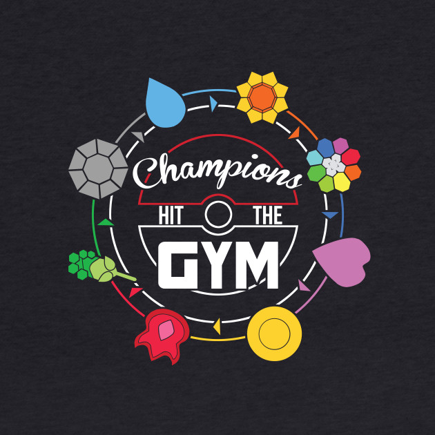 Champions Hit The Gym