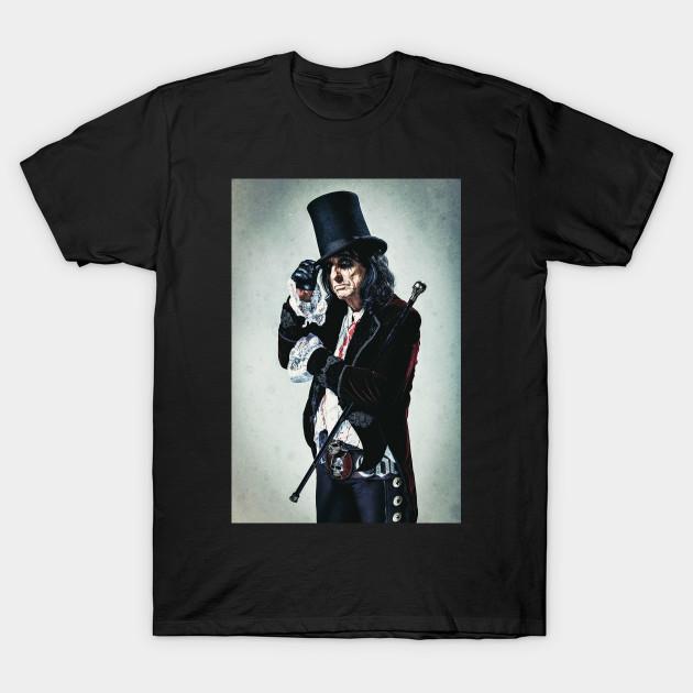 Alice Cooper Music Tour Alice Cooper Paranormal Tour T Shirt