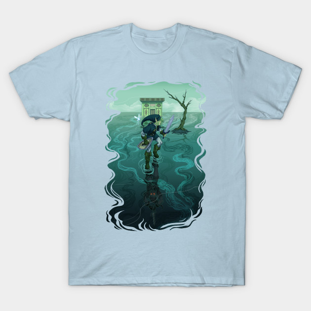 The F'ing Water Temple - Link - T-Shirt |
