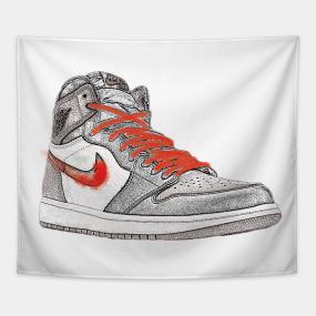 official photos 036b7 1d379 Nike Jordan 1 Retro Tapestry