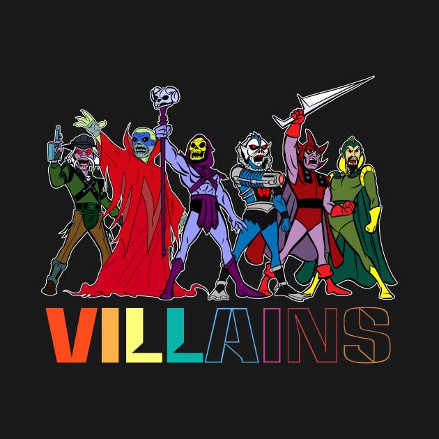 Filmation Villains - Villians