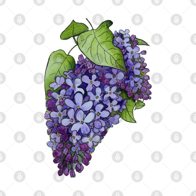 Luminous Lilacs