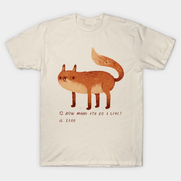 daf8f7126 zero fox given T-Shirt - Zero Fox Given - T-Shirt | TeePublic