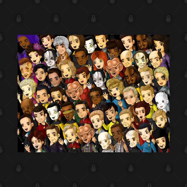 Trek: faces