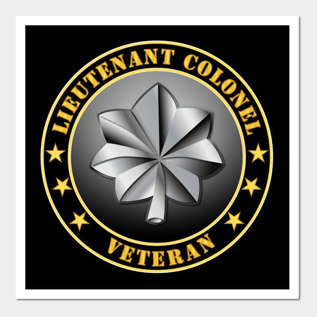 Army Lieutenant Colonel Veteran Army Lieutenant Colonel Veteran