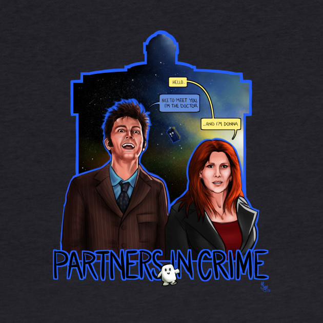 #DTfan4life Partners In Crime Doctor Who Tenth Doctor Donna Noble David Tennant Catherine Tate