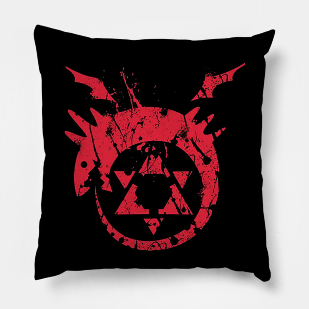 Homunculus Symbol Fullmetal Alchemist Pillow Teepublic