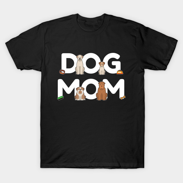 Dog Mom - Dog Lady Mama Puppy Barking Walking