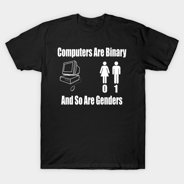 there are only 2 genders gender t shirt teepublic
