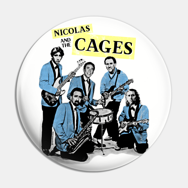 Nicolas and the Cages (Nic Cage Band Shirt)