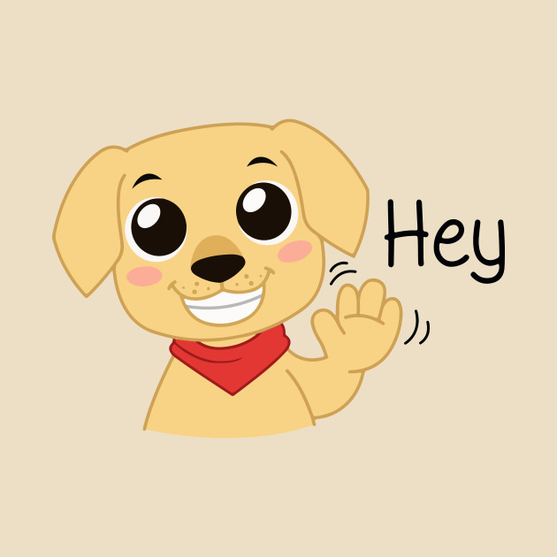 Labrador Puppy - Hey