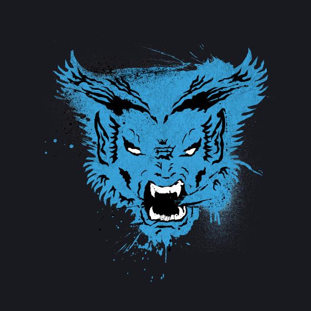 Furry Blue Genius