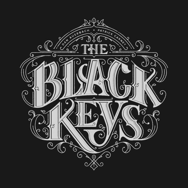 black keys reverse white