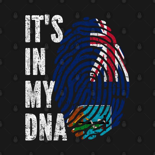 IT'S IN MY DNA Montserrat Flag Men Women Kids