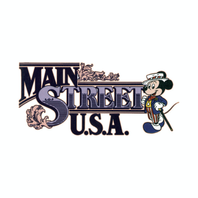 Retro Main Street USA Logo