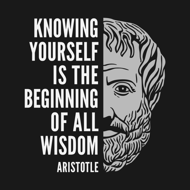 Aristotle Popular Inspirational Quote: Knowing Yourself ...