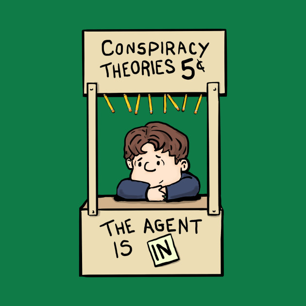 The agent is in