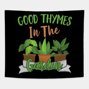 bf6cf709 Funny Gardening Quotes Tapestries   TeePublic