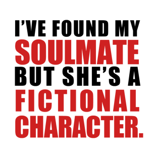 My Soulmate is a Fictional Character (black lettering)